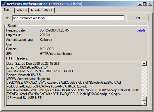 Kerberos Authentication Tester - Michel Barneveld's Blog