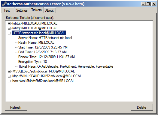 Kerberos Authentication Tester Michel Barneveld's Blog