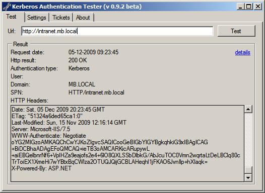 new concept edbd7 298fa Kerberos Authentication Tester - Michel Barneveld s Blog - Michel ...
